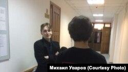 Тюмень, волонтер штаба Навального Мстислав Письменков