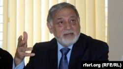 احمد یوسف نورستانی سابق رئیس کمیسیون مستقل انتخابات