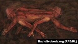 Віктор Хоменко, «Протидія V», полотно, олія, 2009 рік