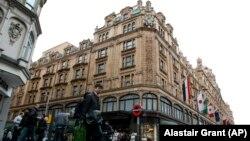 Մեծ Բրիտանիա - Harrods խանութի շենքը Լոնդոնում, արխիվ