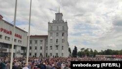 Minsk traktor zavodi ishchilari ish tashladi. 2020, 14 avgust.