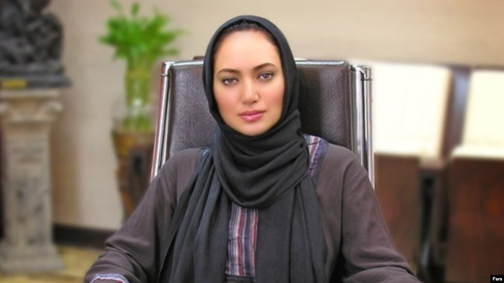 File photo - Saba Kamali ,Iranian movie star.