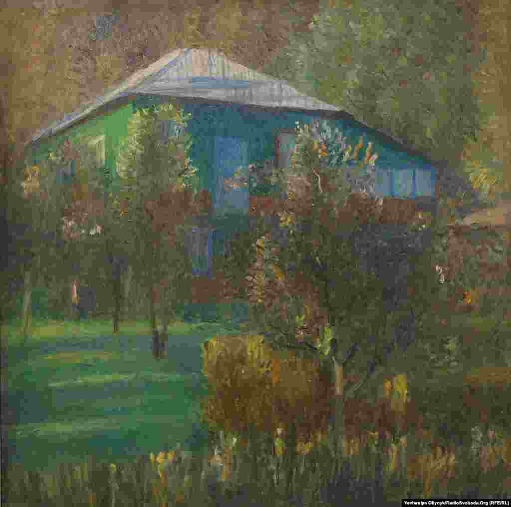 "Tetyana Yablonska, ""Shadowy Orchard,"" 1988"