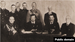 Члени української делегації на російсько-українських переговорах