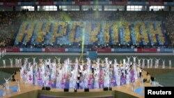 Тұңғыш президент күніне орай ұйымдастырылған шара. Астана, 1 желтоқсан 2012 жыл.
