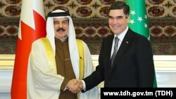 King of Bahrain and President of Turkmenistan held talks in Ashgabat