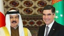 Bahreýniň patyşasy bilen Türkmenistanyň prezidenti Aşgabatda gepleşik geçirdi