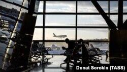 Московский аэропорт Внуково.