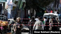 عکس از حمله انتحاری امروز کابل