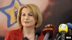 Вицепремиерката за евроинтеграции Теута Арифи.
