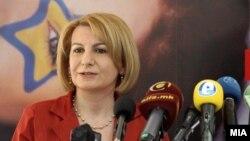 Вицепремиерката задолжена за европски прашања Теута Арифи.
