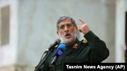 اسمعیل قاآنیفرمانده نیروی قدس سپاه پاسداران انقلاب اسلامی ایران
