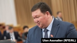 Депутат парламента Кыргызстана Мирлан Жээнчороев.