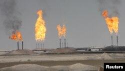 İraqda neft yataqları.