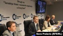 Okrugli sto o saradnji Vlada i NVO, Podgorica, 30.3.2012.