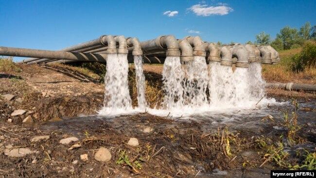 Перекидання води в Криму