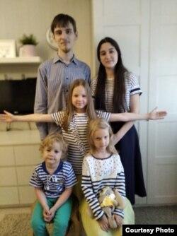 Дети Юлии и Алексея Чижовых