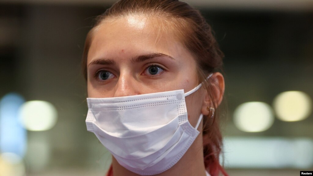 Кристина Тимановская раскритиковала белорусских спортивных чиновников, после чего ее отстранили от Олимпиады в Токио