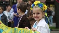 В Одессе прошел мегамарш в вышиванках (видео)
