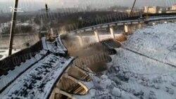 В Петербурге при демонтаже рухнули стены и крыша СКК