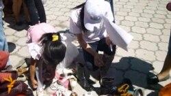 Ярмарка для малоимущих в Темиртау