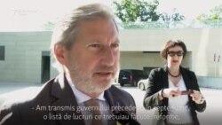 Schimbarea politică de la Chișinău văzută de miniștri ai UE