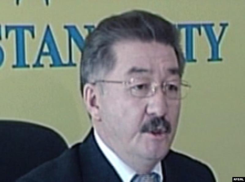 Пресс-секретарь КНБ Кенжеболат Бекназаров