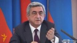Սերժ Սարգսյանը հակադարձում է Իլհամ Ալիեւին