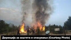 Противпожарни екипи од Бугарија помагаат во гаснење на пожарите во Пехчевско.