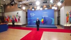 Președintele României, Traian Băsescu, la Bruxelles