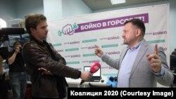 Сергей Бойко, координатор новосибирского штаба Навального