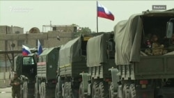 Russian Military Police Deployed To Syria's Douma