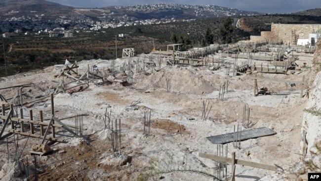 محل ساخت خانههای جدید اسرائیلیها در مناطق اشغالی