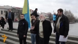 На митинге в Симферополе потребовали отставки президента