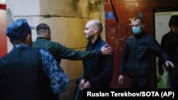 Ռուսաստան - «Բաց Ռուսաստան»-ի նախկին ղեկավար Անդրեյ Պիվովարովի ձերբակալությունը, Սանկտ Պետերբուրգ, 1-ը հունիսի, 2021թ․