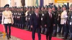 1. Кездесу. Путин - Назарбаев