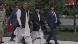 افغان ولسمشر د پاکستاني وزیر اعظم هرکلی کوي