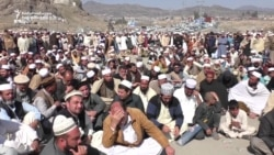 Protesters Block Pakistani-Afghan Traffic In The Khyber Pass