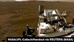 Головний інженер марсохода Perseverance Адам Стельцнер назвав відібраний зразок «ідеальним»
