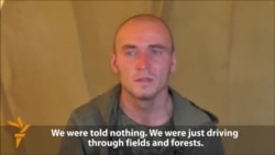 Ukraine Releases Video Of Captured Russian Soldiers