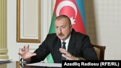 Азербайджанан президент Алиев ИлхIам