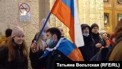 Завершение акции 23 января у площади Восстания