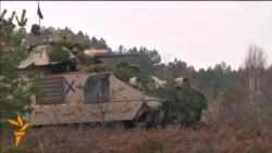 NATO Conducts 'Iron Sword' Exercises In Lithuania