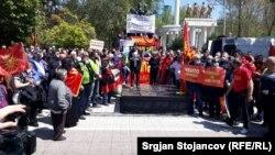 """Протест во Скопје за ослободување на затворените за """"27-ми април"""""""