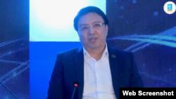 На кадре из видео — Нуржан Альтаев.