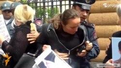 Ցուցարարները պահանջում են պատժել զոհված զինվորների մայրերին բռնության ենթարկած իրավապահներին