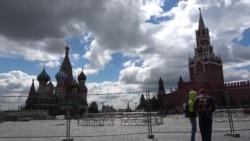 Генеральная репетиция парада в Москве