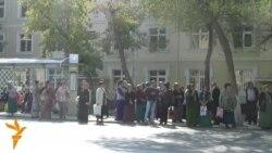 Aşgabat: Nobatly duralgalar