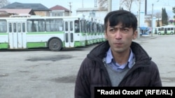 Қурбоналӣ Тураев, ронандаи троллейбус дар Душанбе