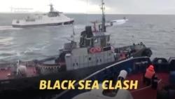 Russia Seizes Ukrainian Ships In Naval Clash